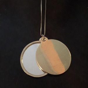 Kate Spade Saturday mirror locket necklace
